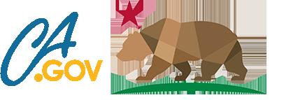 Ca.gov web portal logo with California bear icon