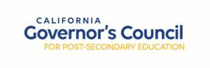 California Governor's Council for Post-Secondary Education logo