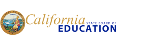 California State Board of Education. seal and logo
