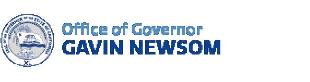 Office of Governor Gavin Newsom logo